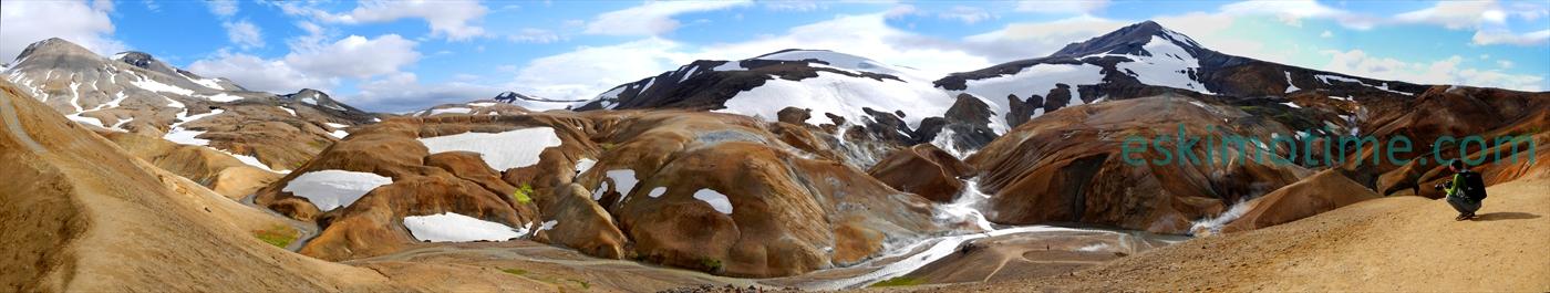 Panorami islandesi